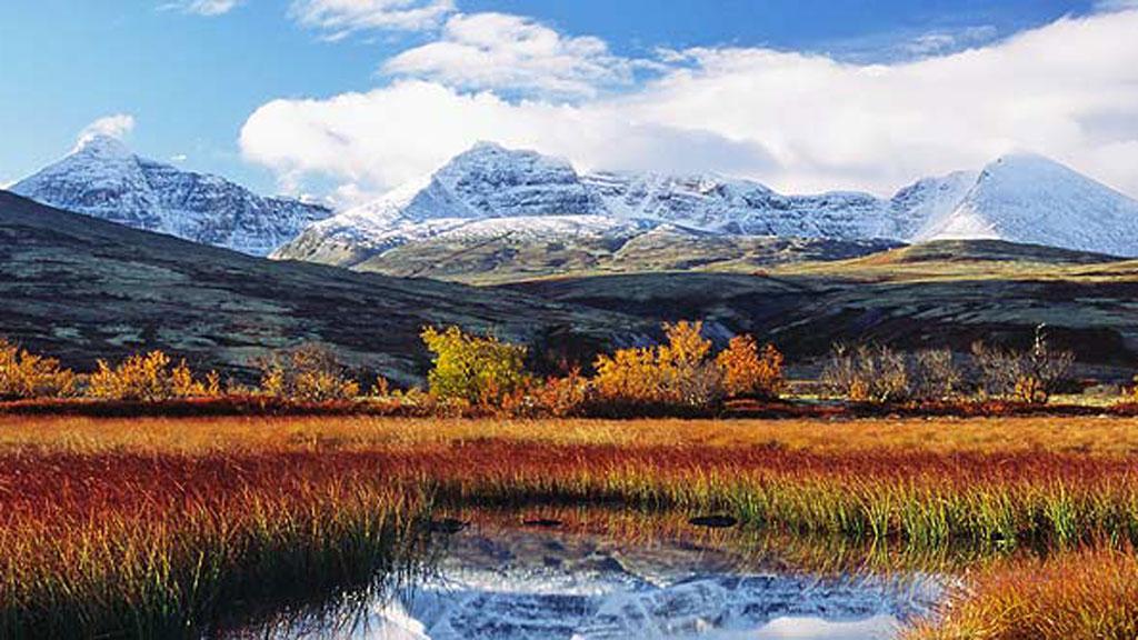 Vakre Rondane med sine storslåtte fjell ligger i Hedmark fylke.