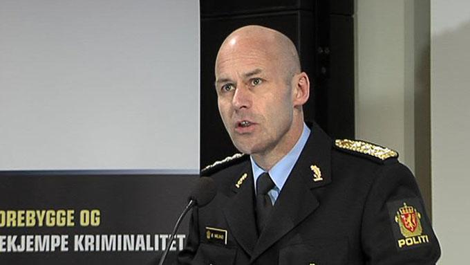 Politidirektør Øystein Mæland ønsker å gjenninnføre forbudet mot tigging i Norge. (Foto: TV 2)