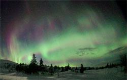 Trysil har hatt mye flott nordlys denne uken, nå kan det være mer på vei. (Foto: Star Hunting Trysil)