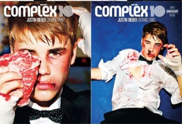 FORSIDEN AV COMPLEX: Justin Bieber