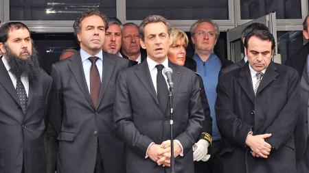 Nicolas Sarkozy PK Toulouse (Foto: AFP)