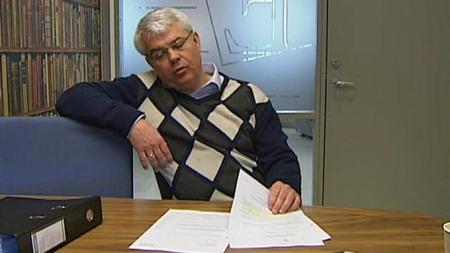 NEKTER: Morens forsvarer Thomas Randby sier moren aldri registrerte mishandling av sønnen Christoffer. (Foto: TV 2)