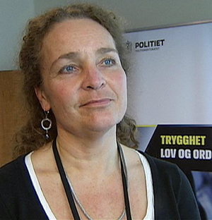 Kommunikasjonsdirektør Margrete Halvorsen i Politidirektoratet.   (Foto: TV 2)