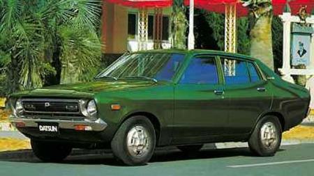 Datsun 120y var en populær modell i Norge på 70-tallet.
