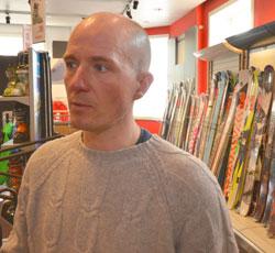 Fredrick Nygård Havre er alpineksperten til Platou. (Foto: Ronald Toppe)