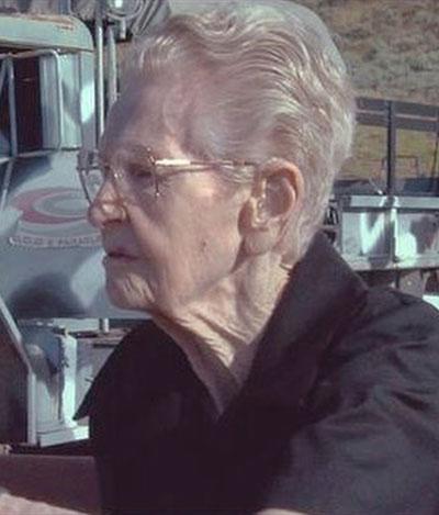 SPREK, GAMMEL DAME: Mary (101) nekter å være stillesittende på sine gamle dager. (Foto: SCANPIX)