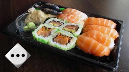 sushi-meny (Foto: Terje Andersen)
