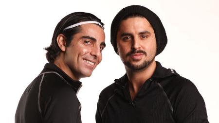 Khabat Sarzali og Karim Sabeur