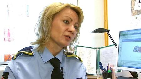 MENNESKEHANDEL: ¿ At mange av de i realiteten er ofre for menneskehandel, det er vi ganske sikre på, sier Line Steen Presthus, politiadvokat ved Oslo politidistrikt til TV 2. (Foto: TV 2/Jessica Allande  )