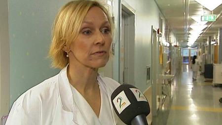 VIL REDDE FLERE: Anne Karin Brigtsen, barnelege og forsker, håper at den nye vaksinen kan ute i løpet av kort tid.  (Foto:  Frode Sunde/ TV 2)