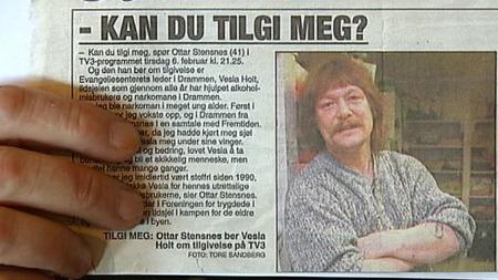 TILGIVELSE: Nå bruker Ottar Stensnes tiden på å gjøre opp for seg. (Foto: TV 2)