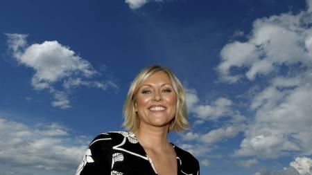 LIKER SPINNING: Værpresentatør Eli Kari Gjengedal trener spinning og styrke, men innrømmer at hun sliter med å spise sunt hele uka. (Foto: Håvard Solem/Bergen)