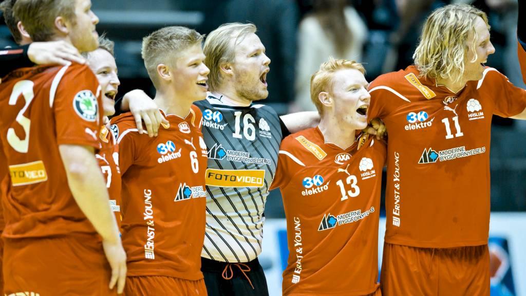 TØFF MOTSTAND: Halsum-gjengen får tøff motstand i CL-kvalikken. (Foto: Sørbø, Krister/NTB scanpix)