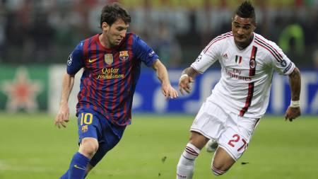 Messi og Boateng (Foto: STEFANO RELLANDINI/Reuters)