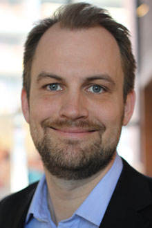 Kristian Hvilen, nordisk kommunikasjonssjef i Kraft Foods. (Foto: Kraft Foods)