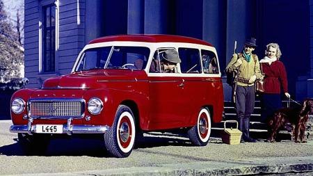 Volvo PV 445, 1957