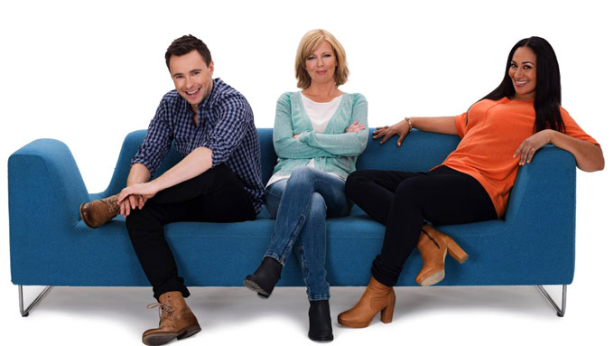 ETTERMIDDAGEN: Silje Stang, Sarah Natasha Melbye og Stian Barsnes Simonsen blir programledere for TV 2s nye storsatsning.