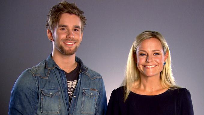 Stian Blipp og Solveig Kloppen (Foto: TV 2)