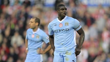 BUDKRIG: Mange klubber kan ende i en budkrig for å signere Manchester City-spilleren Micah Richards.  (Foto: Mike Egerton/Pa Photos)