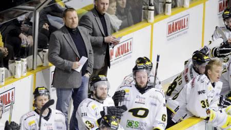 Stavanger Oilers trener Petter Thoresen (Foto: Skibstad, Kent/SCANPIX)