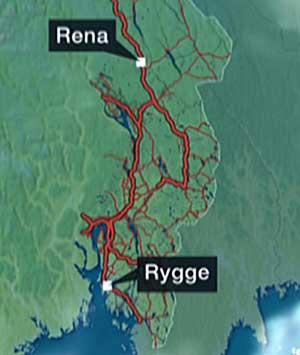 rena leir kart Kan måtte vente 24 timer på Forsvarets antiterrorgruppe rena leir kart