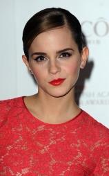 USKYLDIG: Det er slik vi er vant til å se Emma Watson. (Foto: Justin Goff/Ken Goff Photos , ©TS)