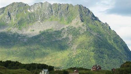 Fjellheimen i Nord er storslått.