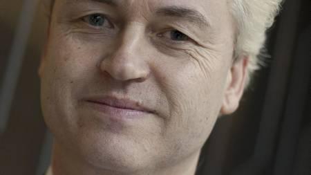 INNFLYTELSESRIK: Nederlandske Geert Wilders og hans PVV-parti   er en av de mest inflytelsesrike høyreradikale i Europa. (Foto: PETER   DEJONG/Ap)