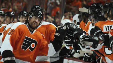 Philadelphia Flyers (Foto: BRUCE BENNETT/Afp)
