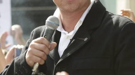 EDL-LEDEREN: Stephen Lennon som også bruker navnet Tommy Robinson   er grunnlegger og leder av English Defence League. (Foto: Yui Mok/Pa   Photos)