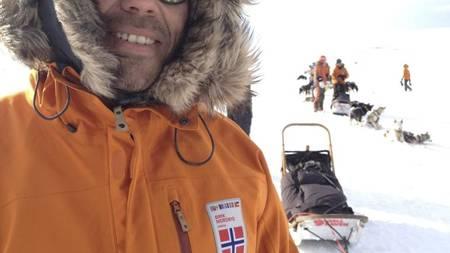 NORSK ALIBI: Eirik Nordby er en av to norske deltakere i Fjällräven Polars hundeløp. (Foto: Ivar Ekseth/)