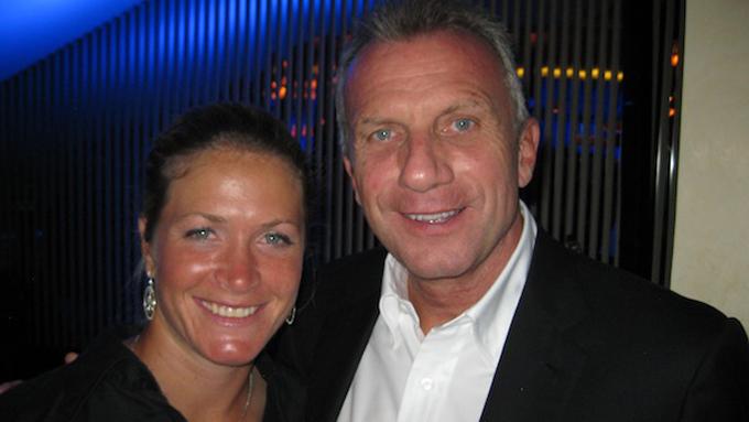 Suzann Pettersen og Joe Montana