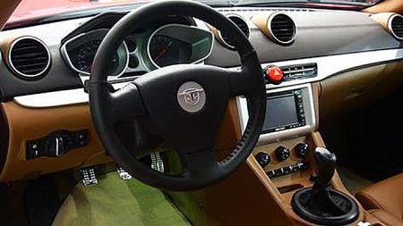 Slik ser S11-Coupe-en ut innvendig.