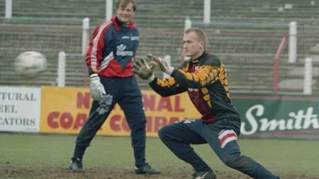 Eirk Thorstvedt og Frode Grodås (Foto: RUNE PETTER NESS/NTB scanpix)