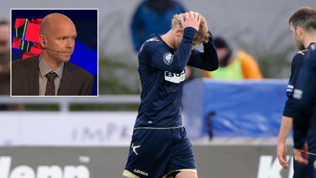 Henning Berg tipper Stabæk ned etter fem serierunder. (Foto: TV 2.)