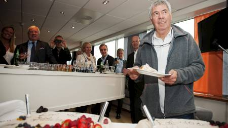 NFF feiret Egil Drillo Olsen sin 70 års dag på Ullevaal stadion. (Foto: Varfjell, Fredrik/NTB scanpix)