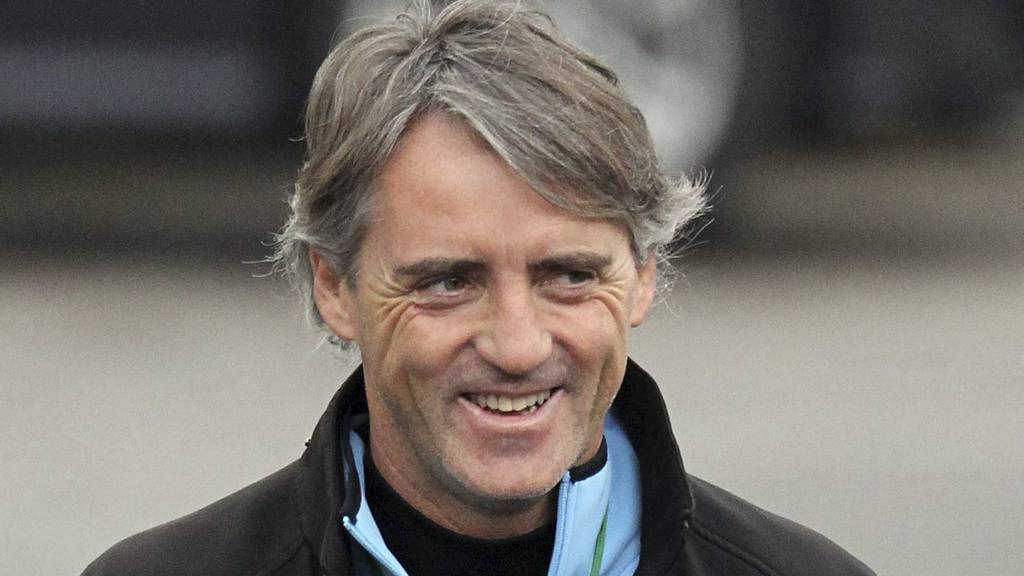 Roberto Mancini. (Foto: Eamonn and James Clarke/Pa Photos)