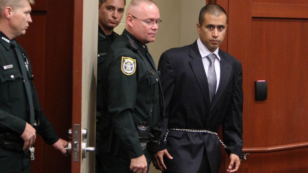 Drapssiktede George Zimmerman møtte fredag i retten. Han håpet å bli løslatt mot en kausjon på under 86.000 kroner, men dommeren krevde en kausjon som var ti ganger så høy.  (Foto: Scanpix)