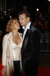 MISTET KONA I ULYKKE: Liam Neeson og Natasha Richardson. (Foto:   Marco Secchi, ©ah)