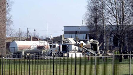 STORE SKADER: Eksplosjonen forårsaka store skader .  (Foto: Scanpix)