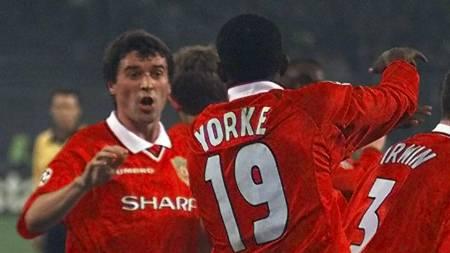 Roy Keane visste at han ikke kom til å spille finale, men svarte med en strålende kamp mot Juventus i 1999. (Foto: MAURO PILONE/AP)