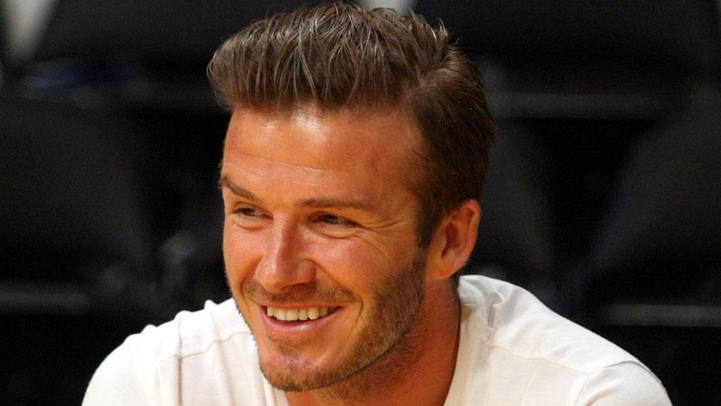 DAVID BECKHAM: David Beckham hemger alltid med på moten og har en av sesongen hotteste frisyrer.
