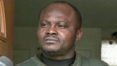 MARERITT: Pappa Adewale Adeni-Awosika opplevde alle foreldres skrekk da bilen med hans sønn ble stjålet. (Foto: CBS)