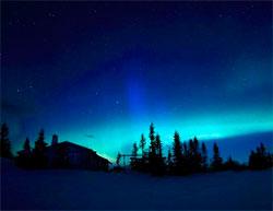 Fantastisk nordlys over Trysil i natt kl 01.00 (Foto: Star Hunting Trysil)