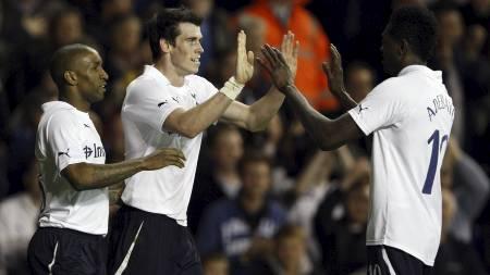 NØKKELSPILLER: Gareth Bale har scoret ni mål for Tottenham i Premier League denne sesongen. (Foto: Kirsty Wigglesworth/Ap)