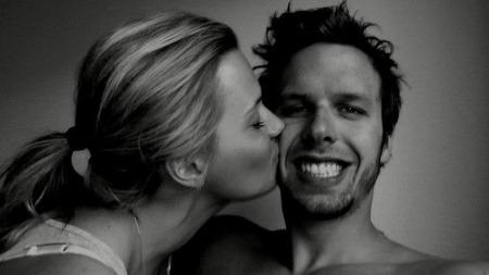 Alexander Dale Oen og Anja Johansen