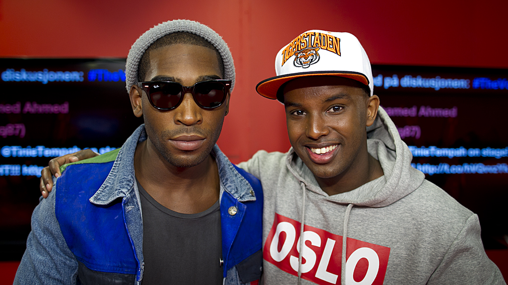 Tinie Tempah, Omar, the voice (Foto: Thomas Reisæter/TV 2)
