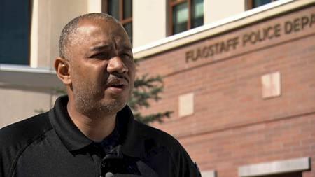 James Jackson i Flagstaff-politiet. (Foto: TV 2/)