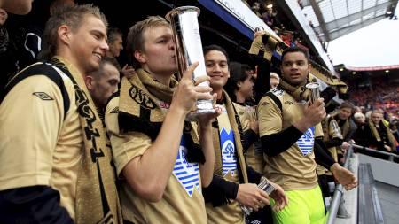 Ole Gunnar Solskjær synes det er helt greit at Aalesund ble cupmester i fjor. (Foto: Åserud, Lise/NTB scanpix)