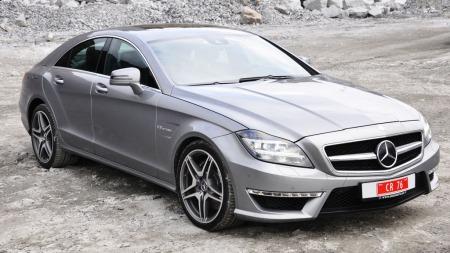 Komfortabelt og rått på en gang.  CLS AMG med 525 hk byr på en familiebil og sportsbil i ett og samme skall.